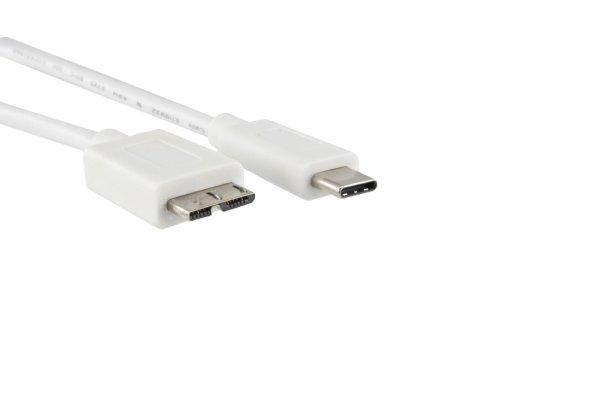 DINIC USB 3.1 Typ C auf USB 3.0 micro B