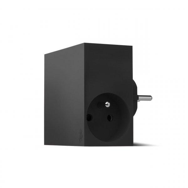 usbepower HIDE 5-in-1 wall-charger, schwarz
