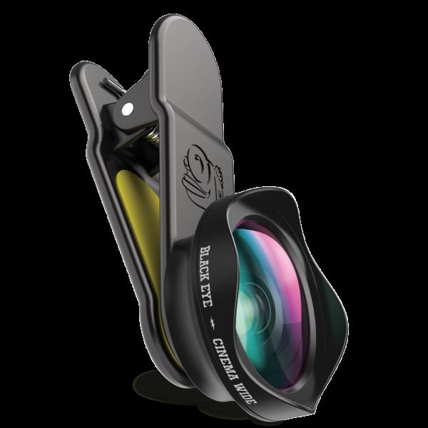 Black Eye Cinema Wide Angle 120° Weitwinkelobjektiv, Smartphone-Objektiv