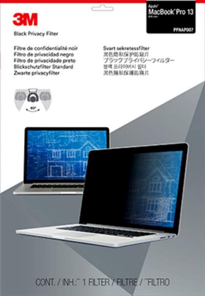 "3M Blickschutzfilter für 13"" Apple MacBook Pro (2016)"